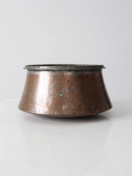 vintage Japanese metal bowl