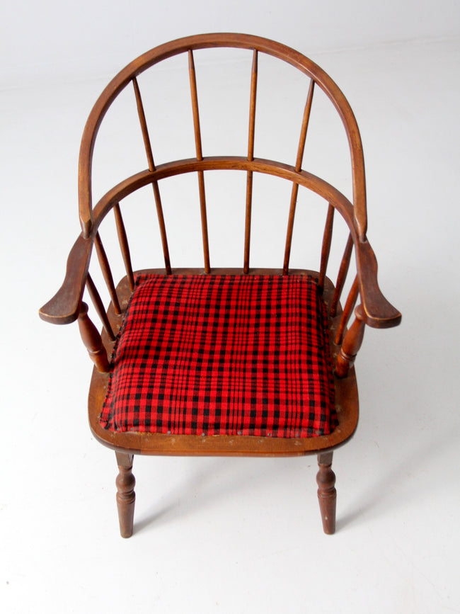 antique Windsor chair with rocking seat