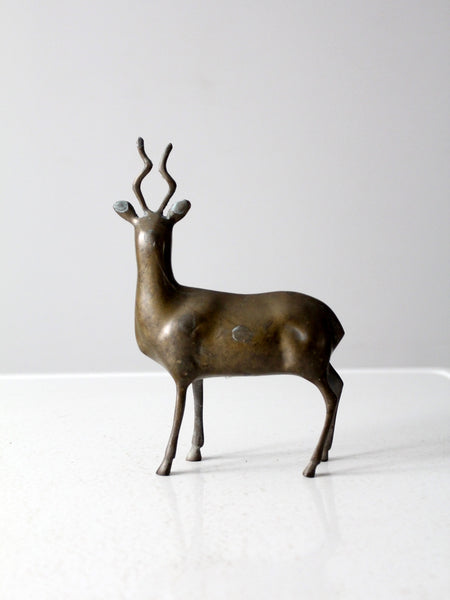 vintage brass animal
