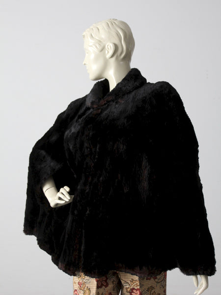 antique fur cape