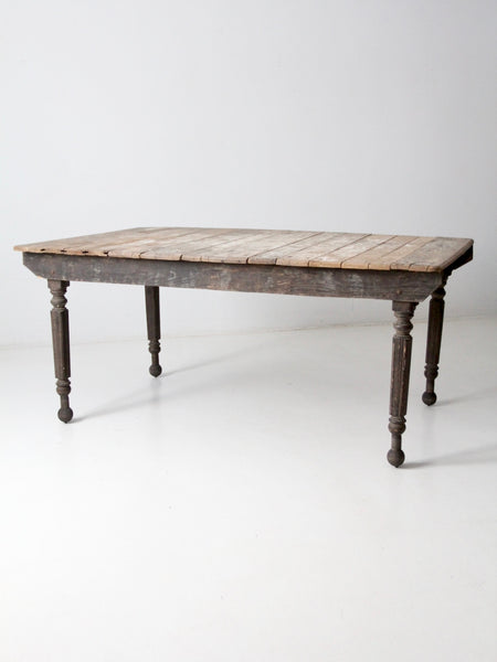 antique farmhouse table
