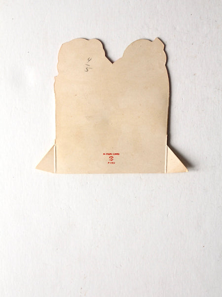 vintage 1940s Valentine's card by A-Meri-Card