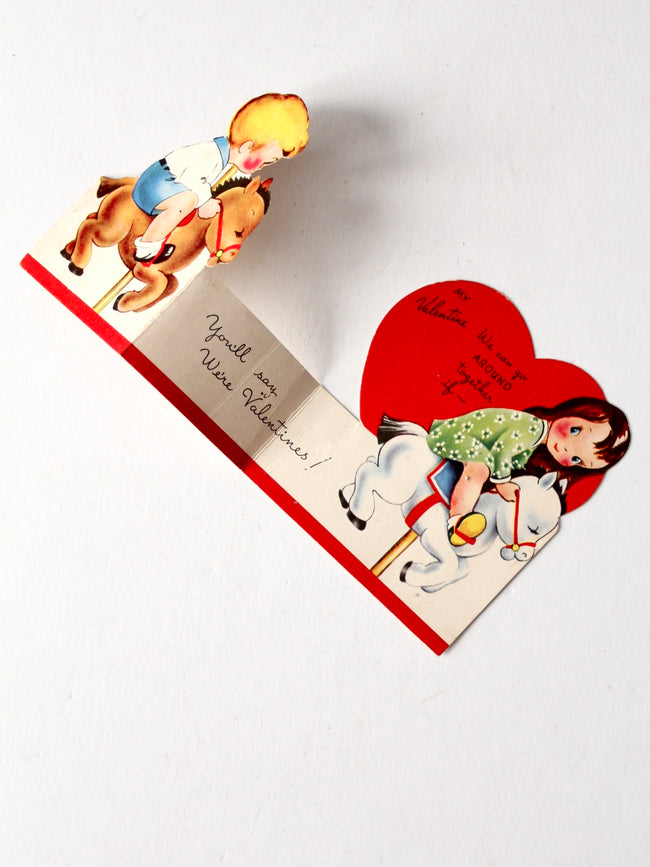 vintage Valentine's Day card by A-Meri-Card