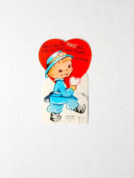 vintage 1940s Valentine's Day card by A-Meri-Card