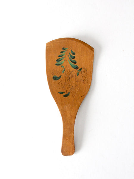 antique primitive butter paddle