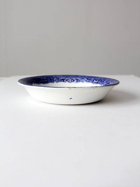 vintage Allertons Blue Willow bowl