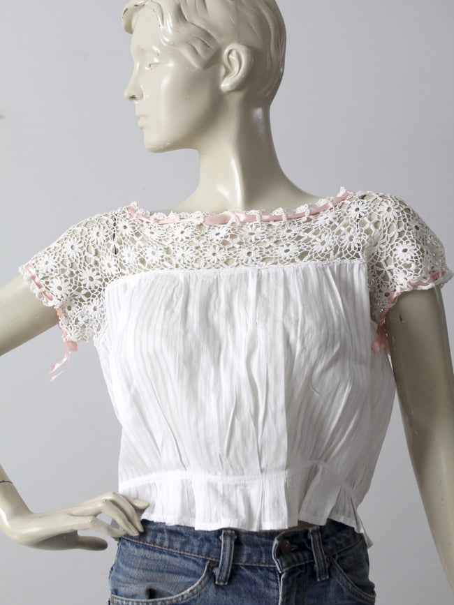 Victorian camisole blouse