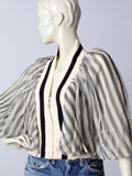 Jean Paul Gaultier silk blouse