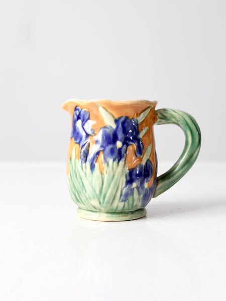 vintage signed studio pottery mug