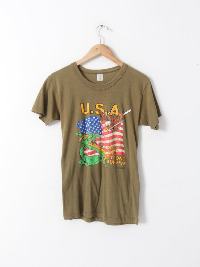 vintage USA graphic tee