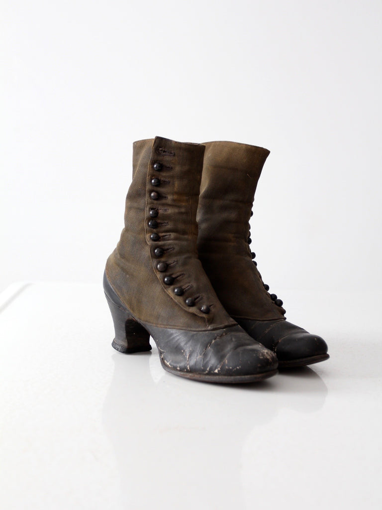 Victorian women's leather boots – 86
