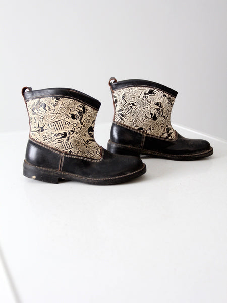 vintage western boots