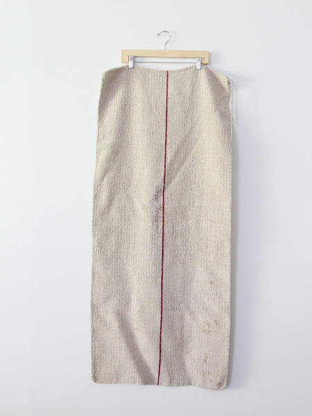 antique european grain sack