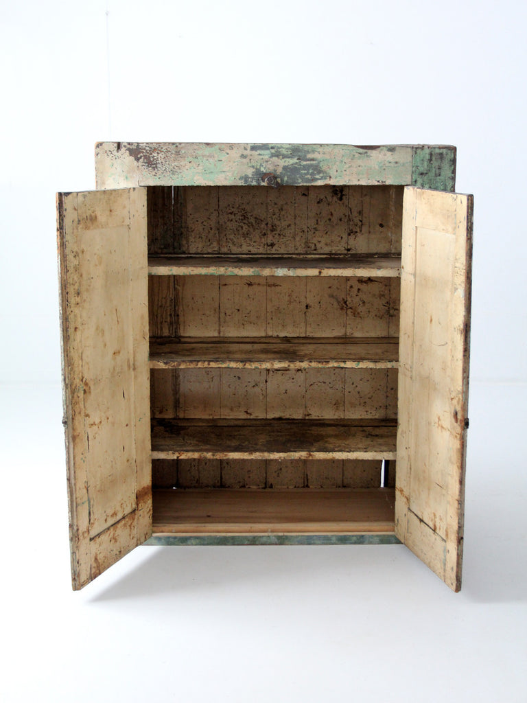 ... antique primitive jelly cupboard, American cabinet ... - Antique Primitive Jelly Cupboard, American Cabinet – 86 Vintage