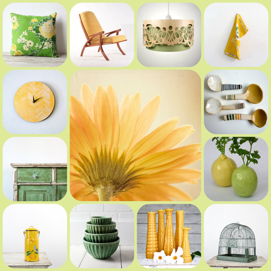 Summer Home Collage