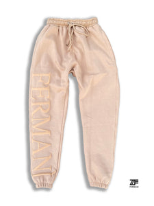 Cream Fermani Sweatpants