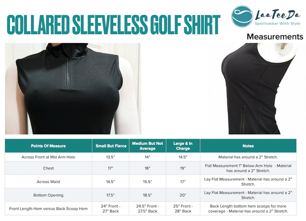 Sleeveless shirt with front pouch pockets - golf wear sports wear tops