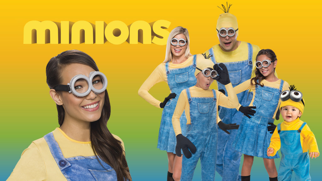 The Minions Halloween Costume themes for families