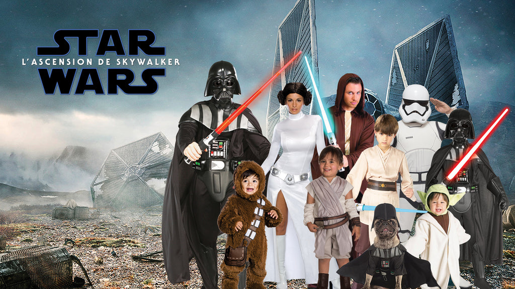 Star Wars Halloween Costume themes for families