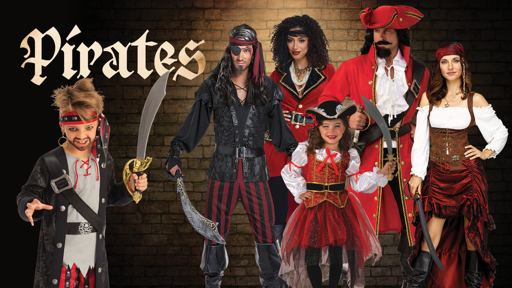 Pirates Halloween Costume themes for families