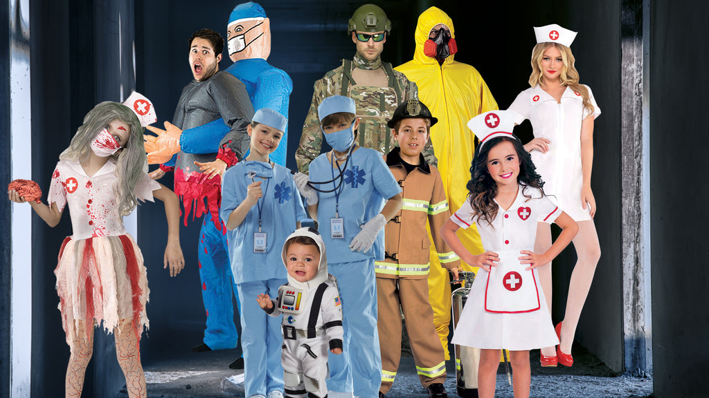Careers Halloween Costume themes for families
