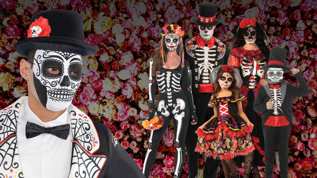 Day of the Dead Halloween Costume themes for families