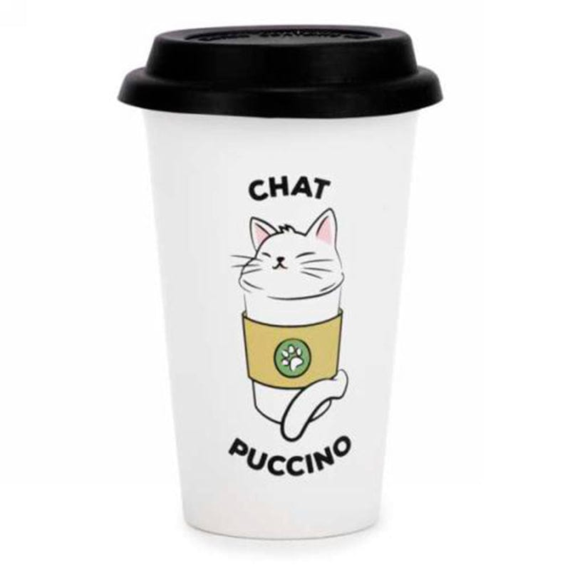 Tasse De Voyage - Chat Puccino