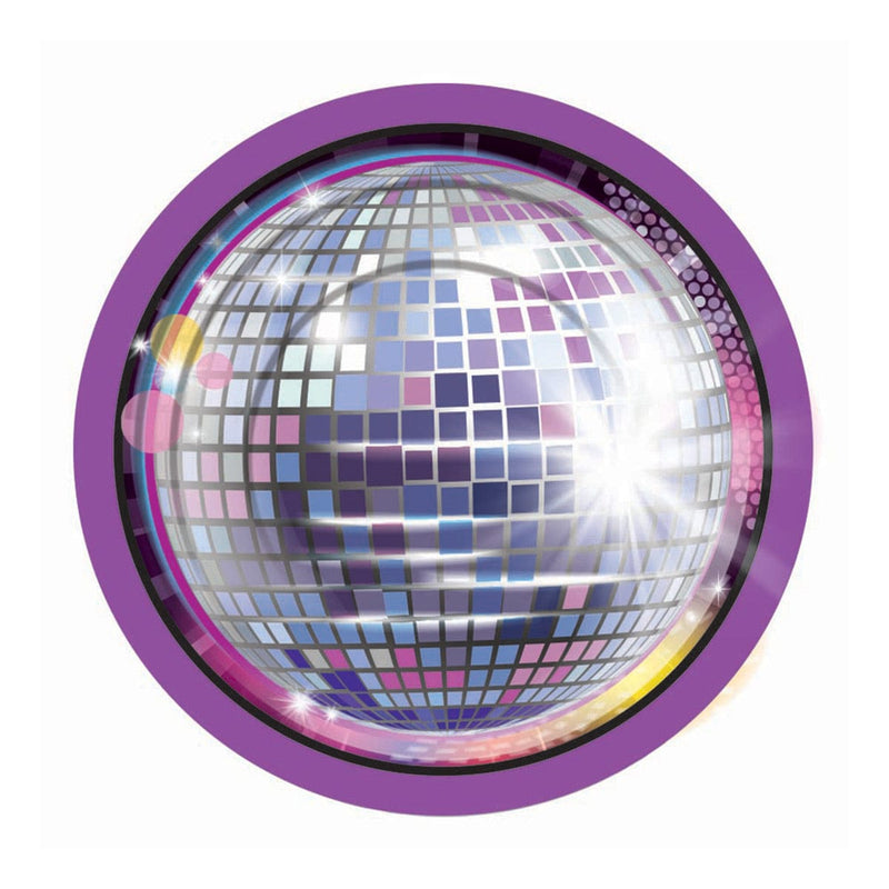 Disco Fever - Assiettes 7 po. 8/pqt