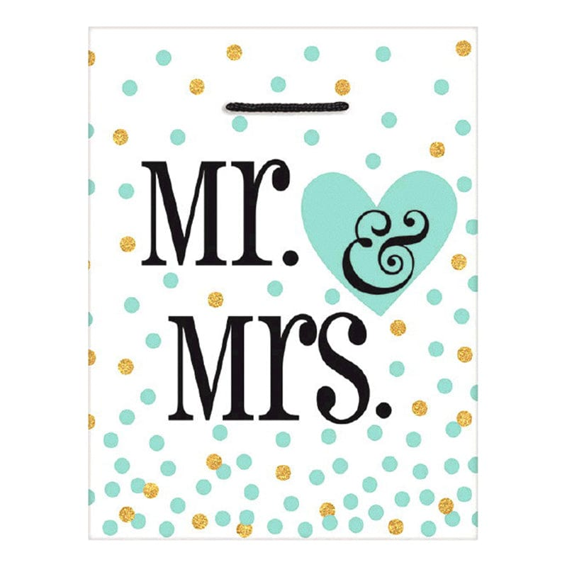 "Sac Cadeau ""Mr & Mrs"" - Large"