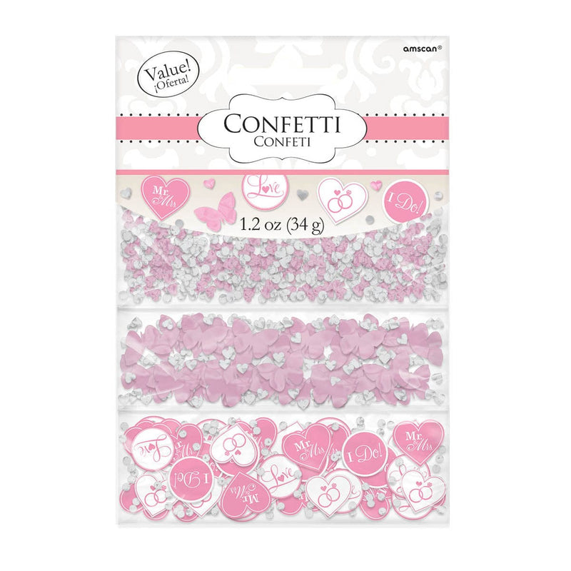 I Do Papillon Confettis - Rose