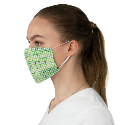 Git History Fabric Face Mask