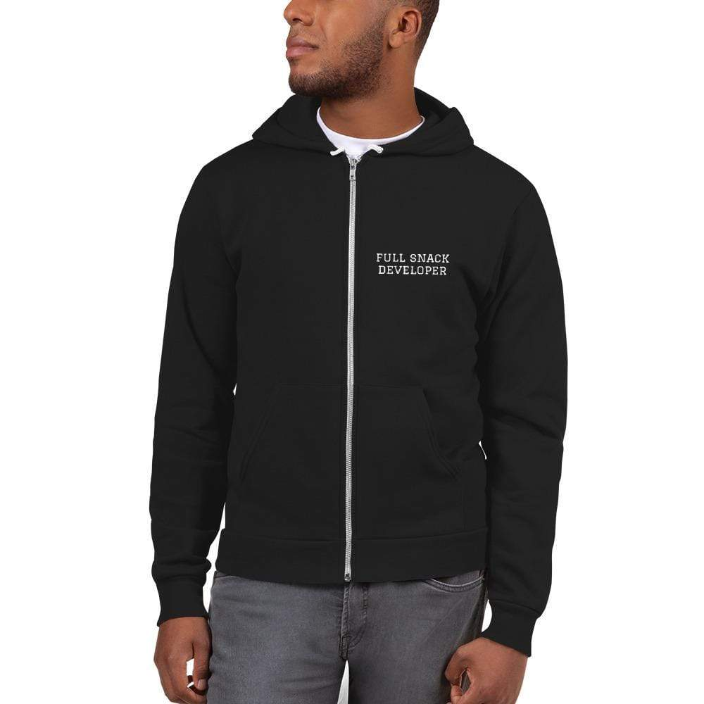 Full Snack Developer Zip Hoodie