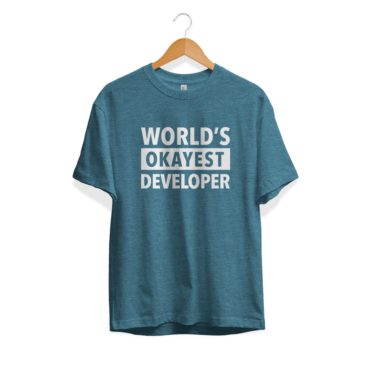 World's Okayest Developer Tee