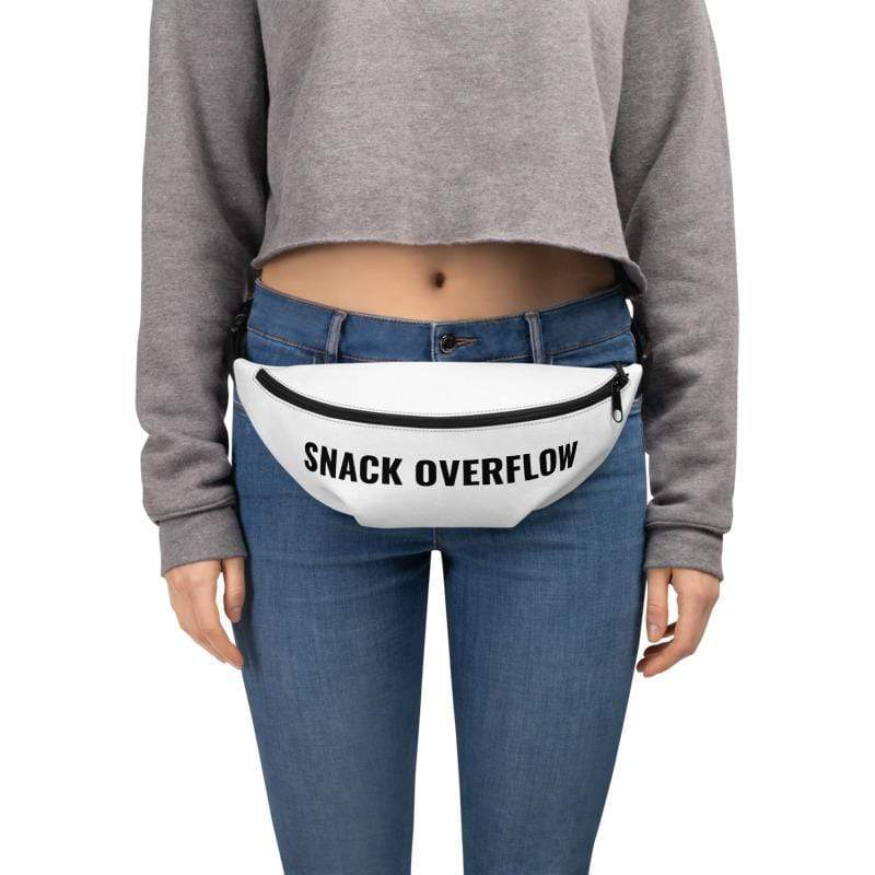 Snack Overflow Fanny Pack