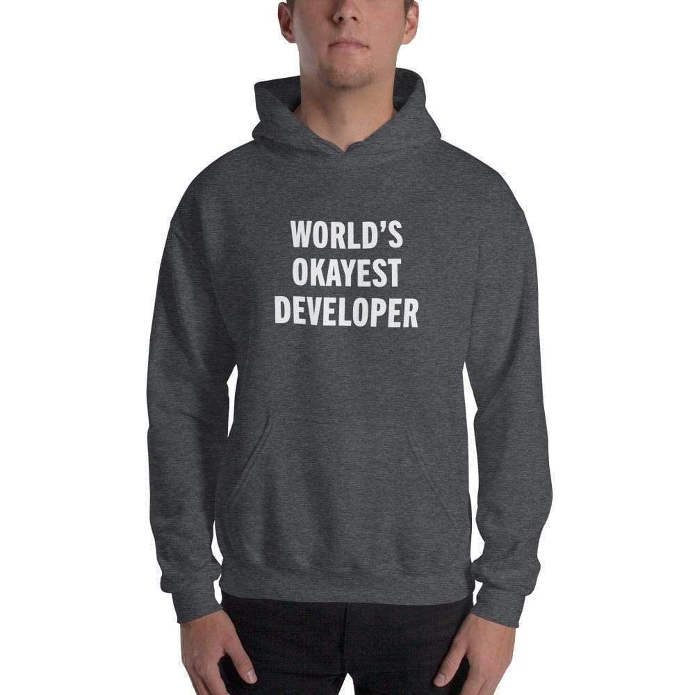 World's Okayest Developer Hoodie