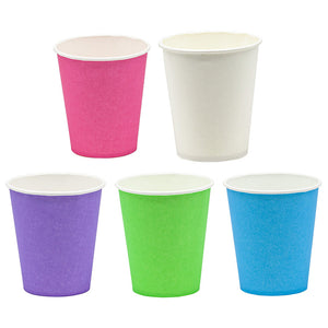 Neon Paper Cups, 5oz(150ml) 1000pcs