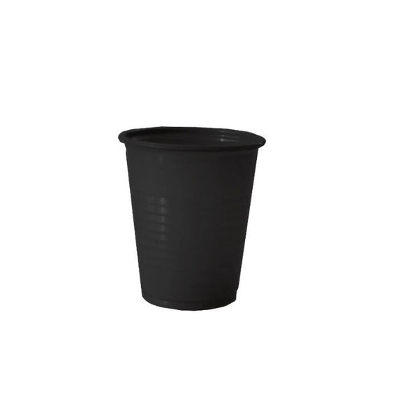Black Plastic Cup, 5oz(150ml), 1000pcs, 990483