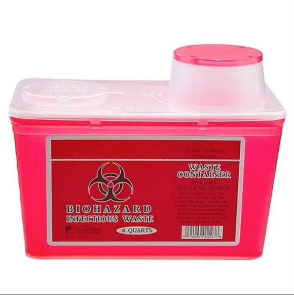 Waste & Sharps Container, 993834, 4 QT(3784ml)