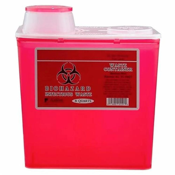Waste & Sharps Container, 993835, 8 QT(7568ml)