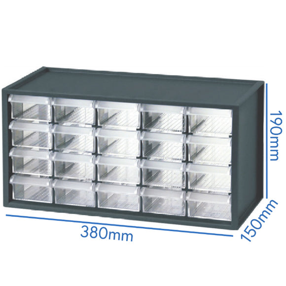 Benchtop Cabinet, 20 Drawers, 993481