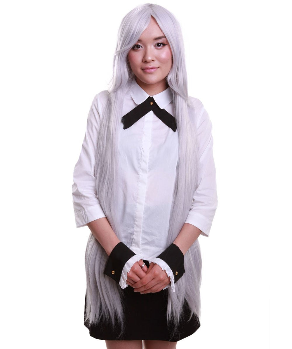 Fun Shack Adults Comic Book Character Wig Womens Cosplay Dip Dye Bunches Hair Accessory Dip Dye Pigtails Wig One Size