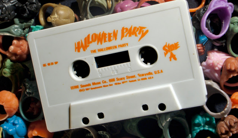 Music tape for the halloween party