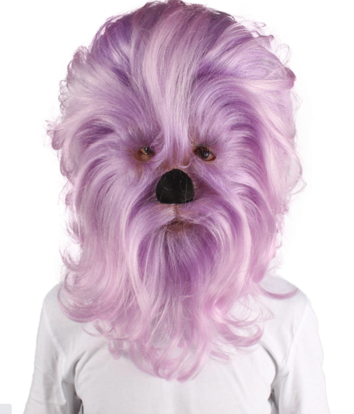 A Man Wearing Intergalactic Resistance Fighter Yeti Costume