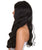 "Nunique Adult Women's 24"" In. Legal Professional Inspired Wig - Long Length Jet Black Straight Hair - Lace Front Heat Resistant Fibers"