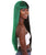 Izzy - Lace Split Dye Blow Out in Dark Green and Black - Adult Fashion Wig | Nunique