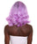 "Nunique Adult Women's 14"" In. Fashion Blogger Mom Wig - Shoulder Length Electric Purple Hair With Dark Roots"