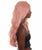 "Anya - Nunique Women's  30"" Wavy Lace Front Heat Resistant Fashion Icon Wig - Extra Long Length Pink Hair - Easy to Wear and Simple to Maintain"