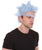 Mad Scientist Grandpa with Unibrow - Halloween Wigs | HPO