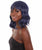 Women's Shoulder Length Wavy Wig with Face Framing Bangs - Adjustable Fashion Wig | HPO