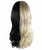 Women's Long Two-Tone Wavy Wig with Pink Bows - Halloween Wigs | HPO